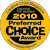Preferred Choice Award by Creative Child Magazine 2010